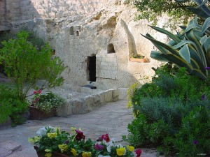 The Garden Tomb, now empty.
