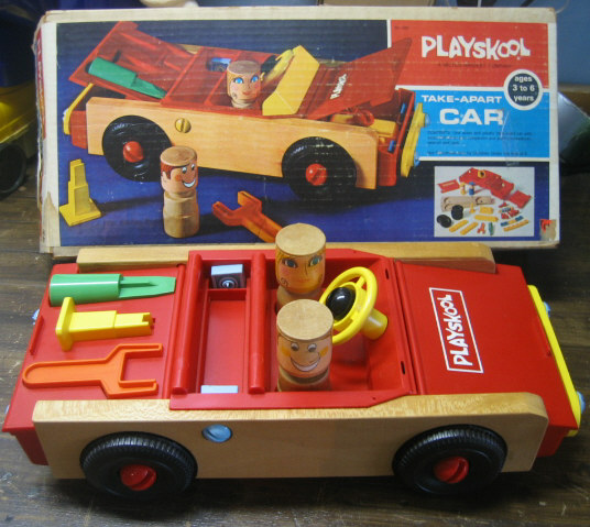 The Playskool Take-Apart Car