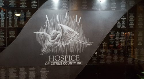 Hospice of Citrus County Donors Mural