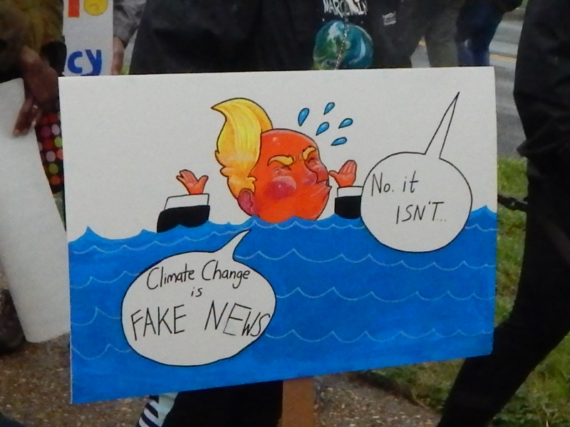 Climate Change is Fake News / No, It Isn't.