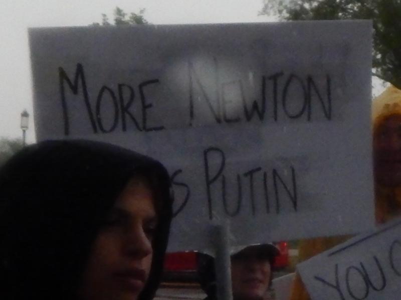 More Newton, Less Putin.