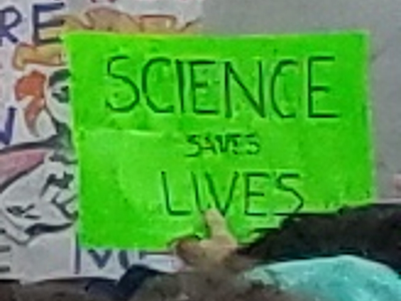 Science saves lives.