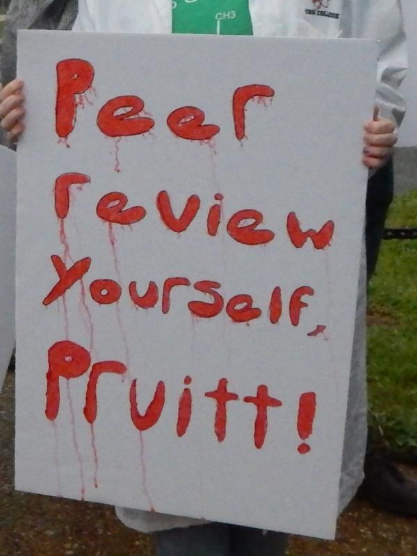 Peer review yourself, Pruitt!