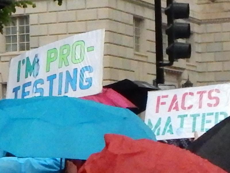 I'm Pro-Testing. Facts Matter!