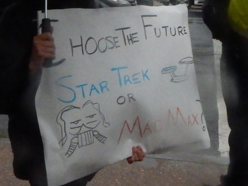 Choose the Future. Star Trek or Mad Max?